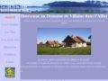 Location gîte et chalets en Auvergne - Domaine de Villaine dans l'Allier